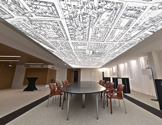 Printed Barrisol CLIM ceilings