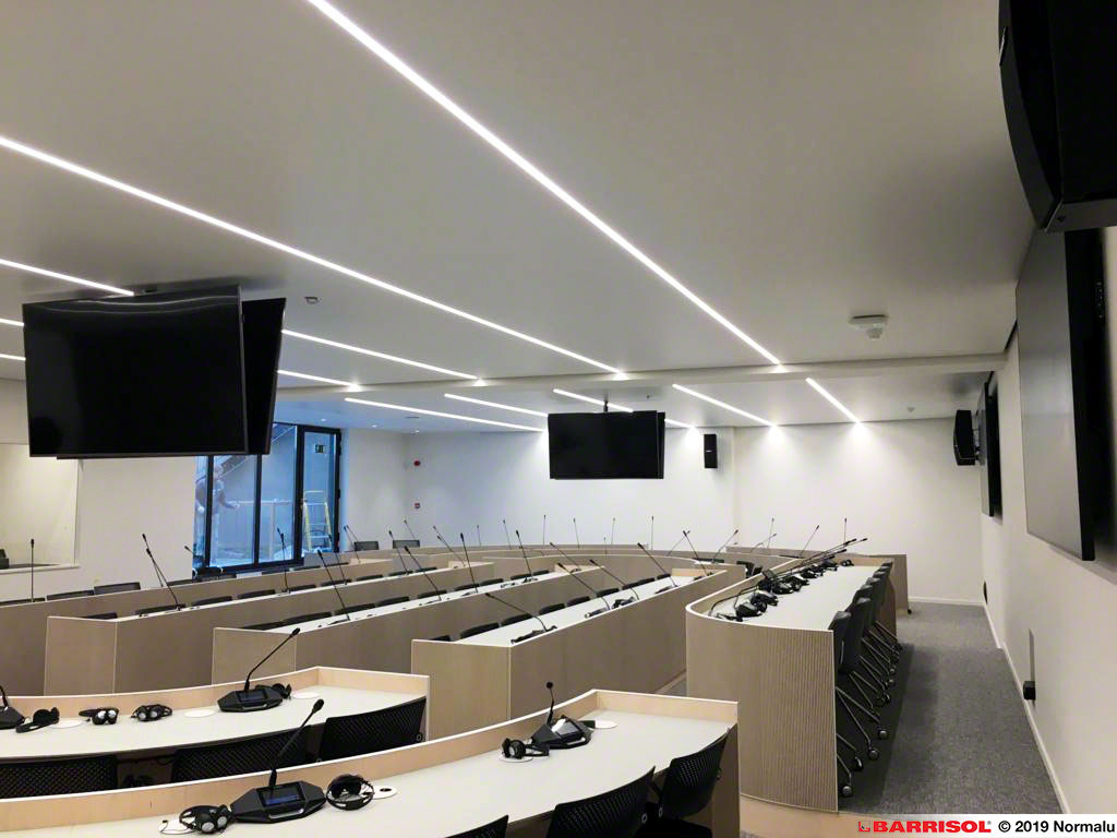 Biosource Membrane Ceiling with Barrisol air Conditioning System